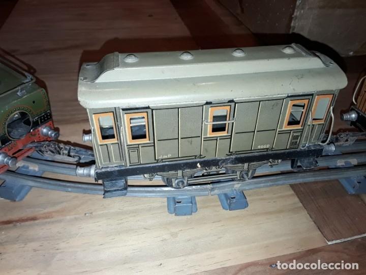 Trenes Escala: Tren J de P, en caja funcionando, cerca de 100 años de antigüedad.125v - Foto 10 - 148339498