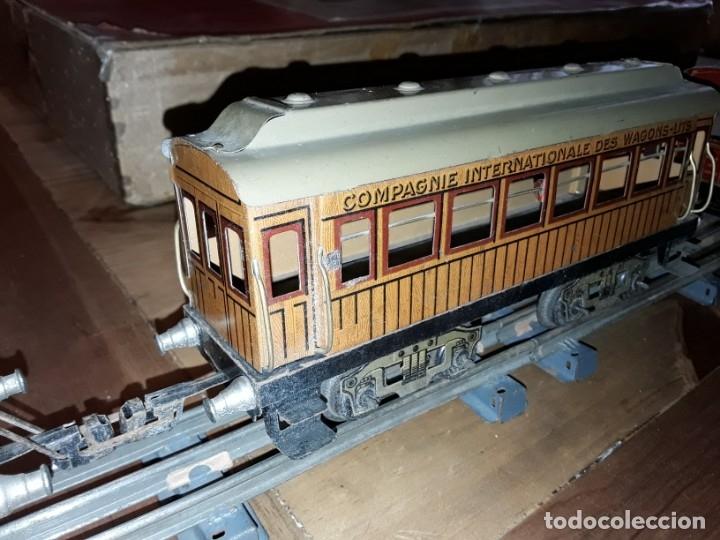 Trenes Escala: Tren J de P, en caja funcionando, cerca de 100 años de antigüedad.125v - Foto 11 - 148339498