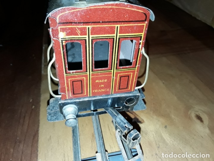Trenes Escala: Tren J de P, en caja funcionando, cerca de 100 años de antigüedad.125v - Foto 13 - 148339498