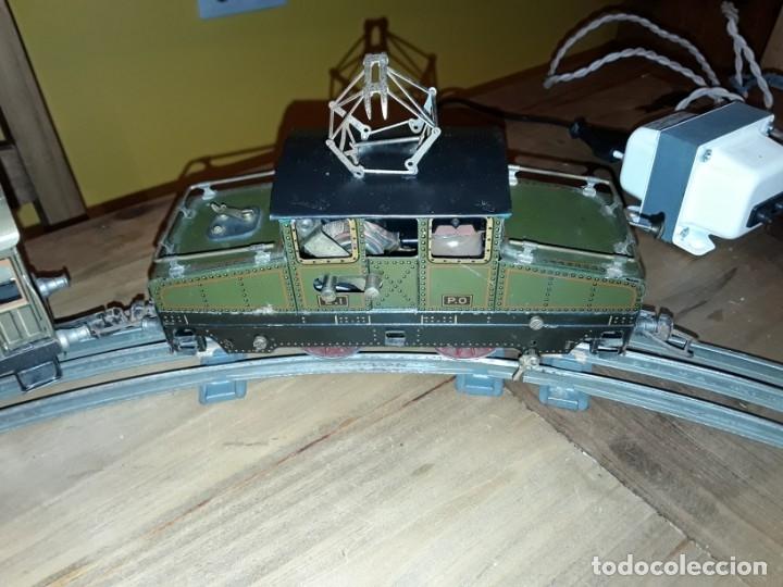 Trenes Escala: Tren J de P, en caja funcionando, cerca de 100 años de antigüedad.125v - Foto 15 - 148339498