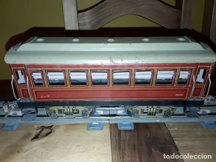 Trenes Escala: Tren J de P, en caja funcionando, cerca de 100 años de antigüedad.125v - Foto 18 - 148339498