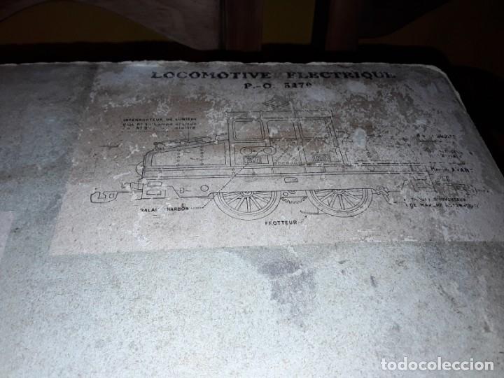 Trenes Escala: Tren J de P, en caja funcionando, cerca de 100 años de antigüedad.125v - Foto 22 - 148339498