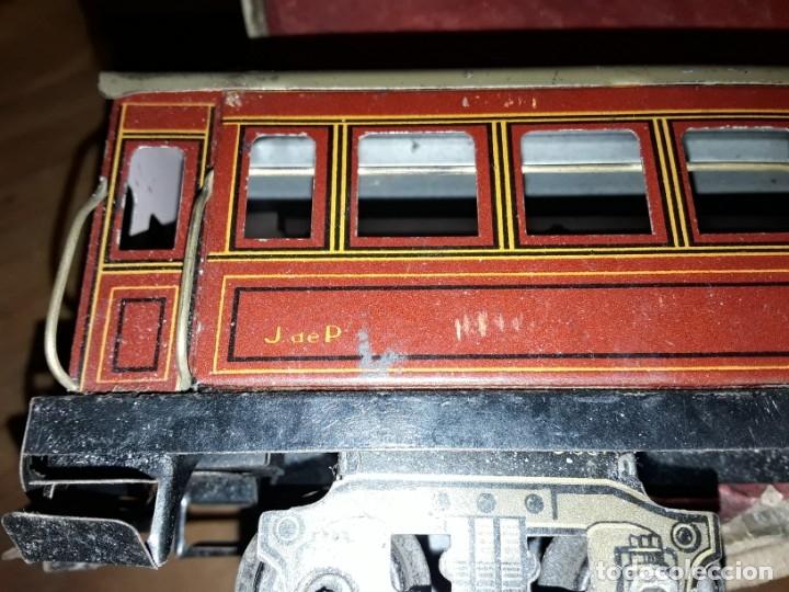 Trenes Escala: Tren J de P, en caja funcionando, cerca de 100 años de antigüedad.125v - Foto 25 - 148339498