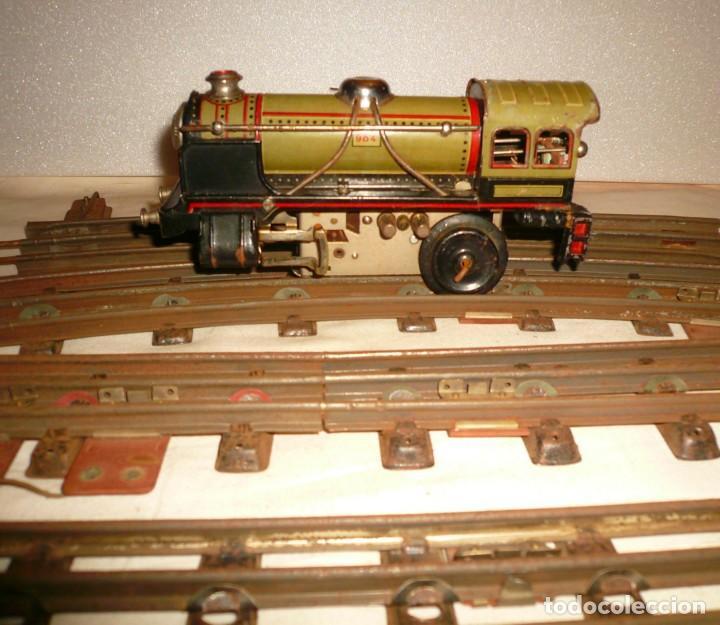 Trenes Escala: LOCOMOTORA PAYA 984 ESCALA 0 CON 4 VIAS - Foto 11 - 148707870