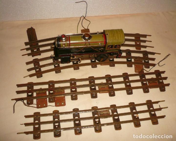 Trenes Escala: LOCOMOTORA PAYA 984 ESCALA 0 CON 4 VIAS - Foto 12 - 148707870