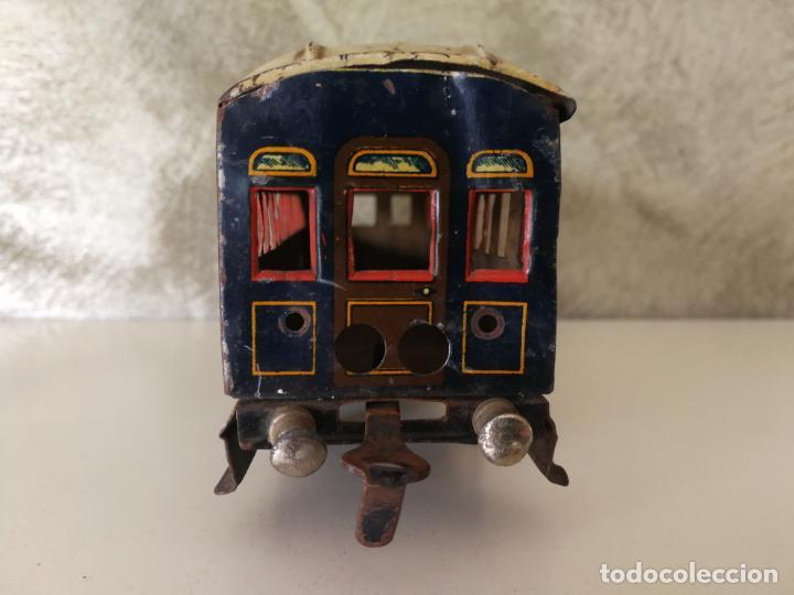 Trenes Escala: VAGÓN HOJALATA DE PAYA ESCALA 0 PARA RESTAURAR - Foto 2 - 151590846