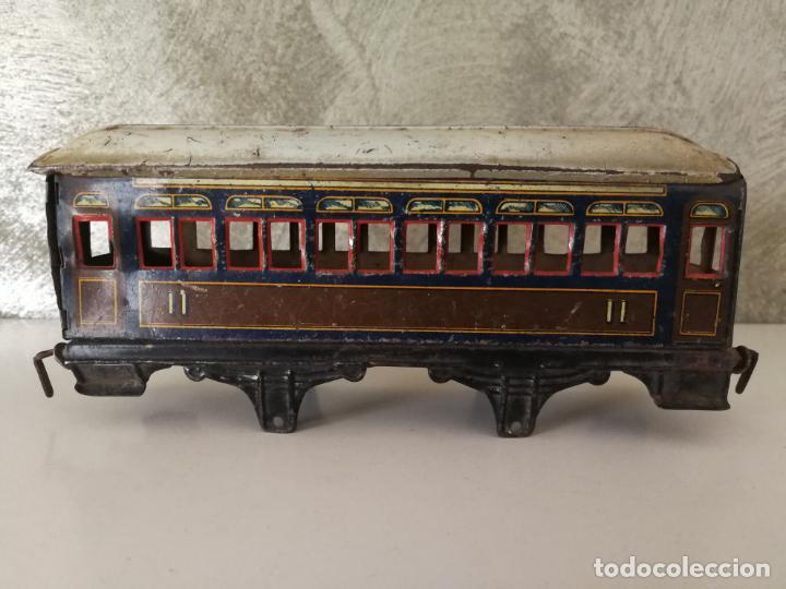 Trenes Escala: VAGÓN HOJALATA DE PAYA ESCALA 0 PARA RESTAURAR - Foto 3 - 151590846