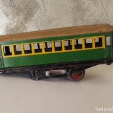 Trenes Escala: VAGÓN HOJALATA DE PAYA ESCALA 0 PARA RESTAURAR . Lote 151591002