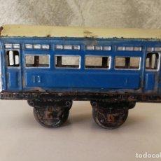 Trenes Escala: VAGÓN HOJALATA DE RICO ESCALA 0 PARA RESTAURAR . Lote 151591490