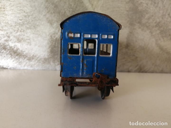 Trenes Escala: VAGÓN HOJALATA DE RICO ESCALA 0 PARA RESTAURAR - Foto 4 - 151591490
