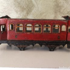 Trenes Escala: VAGÓN HOJALATA MADE IN GERMANY ESCALA 0 PARA RESTAURAR . Lote 151591646