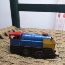 Trenes Escala: LOCOMOTORA ANTIGUA DE CUERDA. Lote 151624726