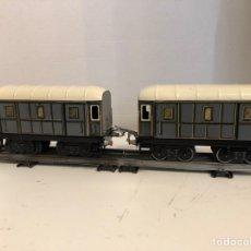 Trenes Escala: PAR VAGONES JEP. Lote 151632646