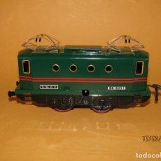 Trenes Escala: LOCOMOTORA BB-8051 S.N.C.F DE CHAPA LITOGRAFIADA EN ESCALA *0* DE HORNBY FABRICADO POR HACHETTE. Lote 155495122