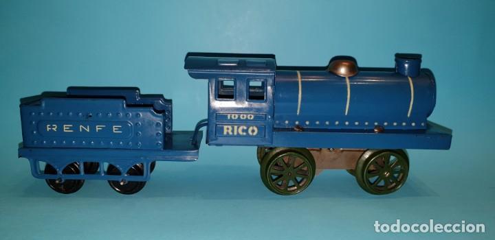 Trenes Escala: TREN HOJALATA de RICO - LOCO 1000 DE RENFE, AÑOS 30 - Foto 3 - 158388282