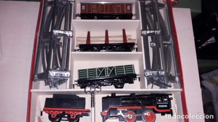 Trenes Escala: TREN DISTLER A CUERDA, TREN ANTIGUO, TREN DE JUGUETE, JUGUETE ANTIGUO - Foto 9 - 158919174