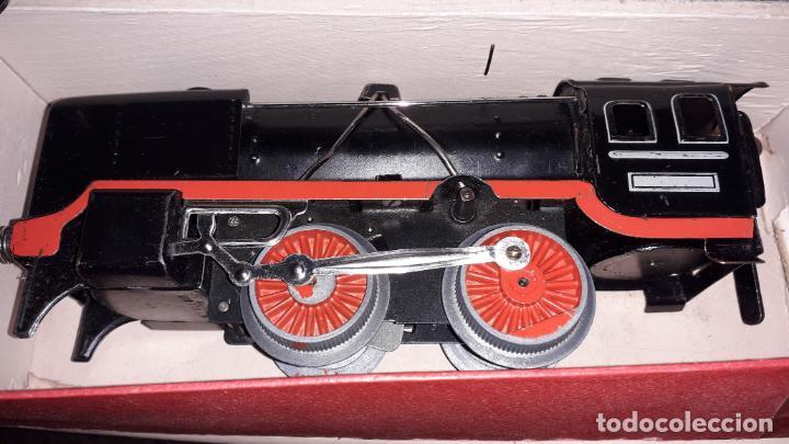 Trenes Escala: TREN DISTLER A CUERDA, TREN ANTIGUO, TREN DE JUGUETE, JUGUETE ANTIGUO - Foto 13 - 158919174