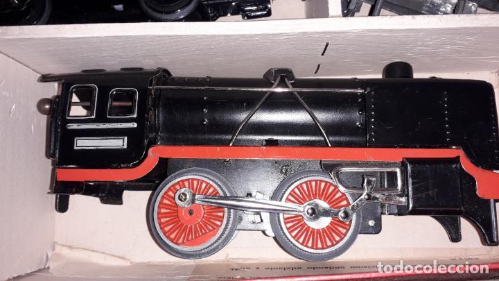 Trenes Escala: TREN DISTLER A CUERDA, TREN ANTIGUO, TREN DE JUGUETE, JUGUETE ANTIGUO - Foto 19 - 158919174