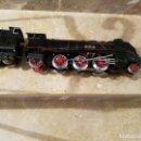 Trenes Escala: JUGUETE DE PAYA MAQUINA SANTA FE NUMERO1101 CON VIDIO. Lote 161102370