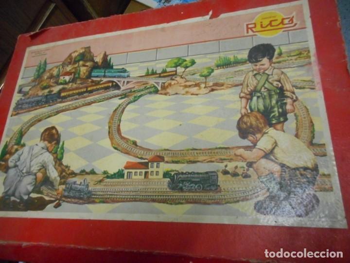 Trenes Escala: caja tren rico,hojalata escala O - Foto 2 - 161129650