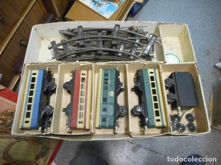 Trenes Escala: caja tren rico,hojalata escala O - Foto 4 - 161129650