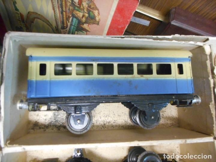 Trenes Escala: caja tren rico,hojalata escala O - Foto 5 - 161129650