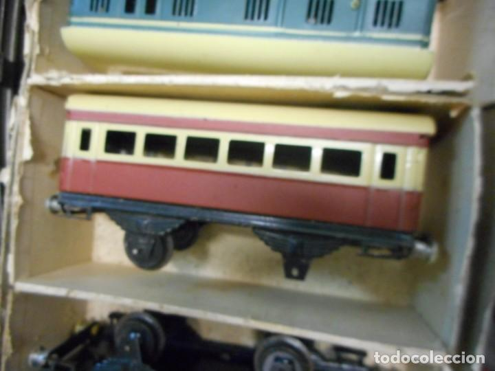 Trenes Escala: caja tren rico,hojalata escala O - Foto 6 - 161129650
