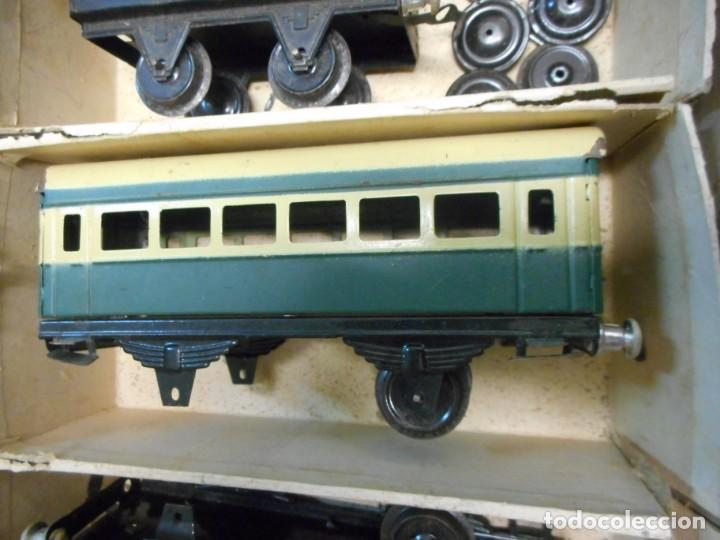 Trenes Escala: caja tren rico,hojalata escala O - Foto 8 - 161129650