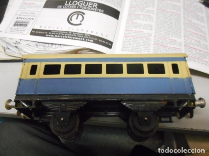 Trenes Escala: caja tren rico,hojalata escala O - Foto 16 - 161129650