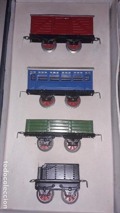 Trenes Escala: TREN ELECTRICO RICO REF. 1010. ESCALA 0 , TREN DE JUGUETE, TREN ANTIGUO, JUGUETE ANTIGUO - Foto 13 - 163516006