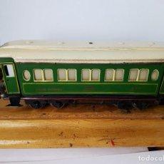 Trenes Escala: VAGON DE PAYA AÑOS 1940. Lote 164681106