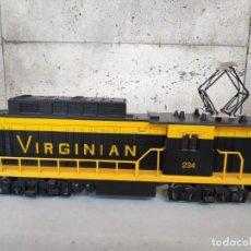 Trenes Escala: LOCOMOTORA VIRGINIAN DE LIONEL . ESCALA 0. Lote 164899270