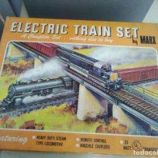 Trenes Escala: ANTIGUO TREN DE ESCALA 0 ELECTRIC TRAIN SET MARX. Lote 165190954
