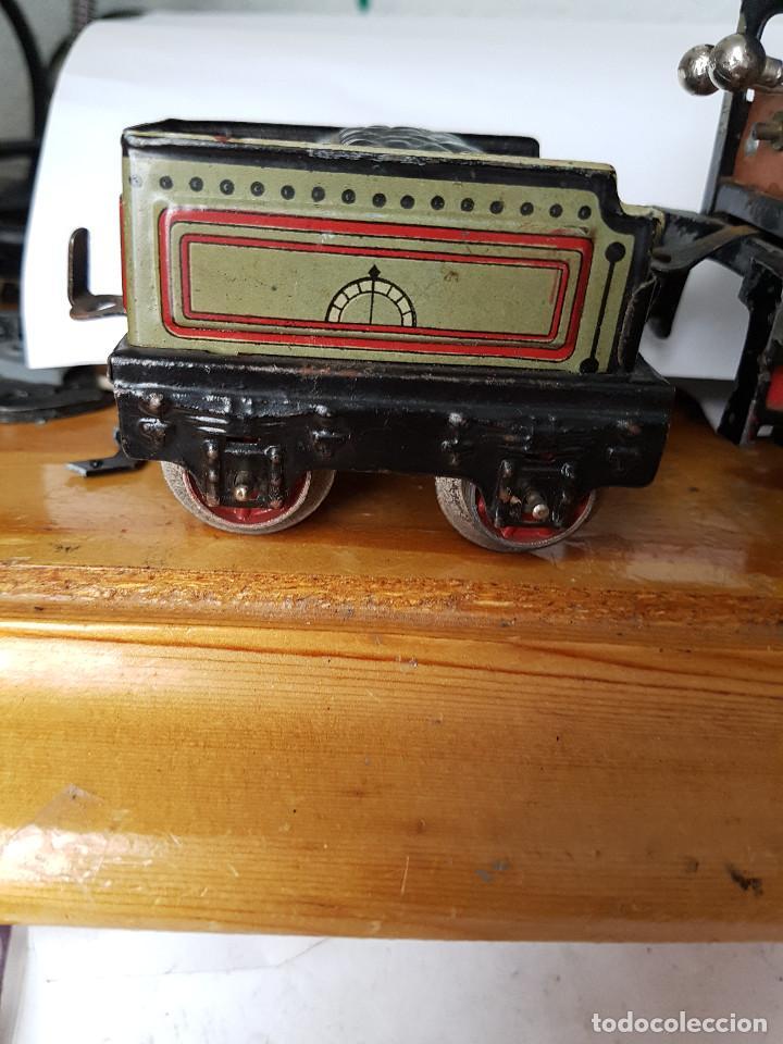 Trenes Escala: TREN PAYA LOCOMOTORA 984, ESCALA 0, TREN DE JUGUETE, TREN ANTIGUO, TREN PAYA fuciona y titene vidio - Foto 5 - 167029136