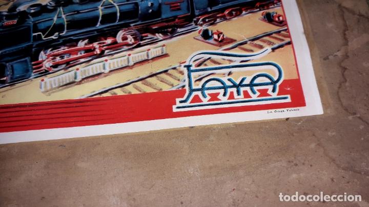 Trenes Escala: TREN PAYA LOCOMOTORA 984, ESCALA 0, TREN DE JUGUETE, TREN ANTIGUO, TREN PAYA - Foto 3 - 167567740