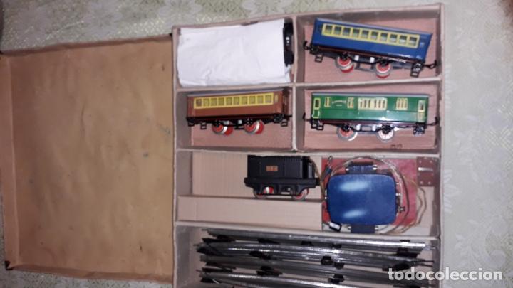 Trenes Escala: TREN PAYA LOCOMOTORA 984, ESCALA 0, TREN DE JUGUETE, TREN ANTIGUO, TREN PAYA - Foto 7 - 167567740