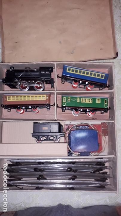 Trenes Escala: TREN PAYA LOCOMOTORA 984, ESCALA 0, TREN DE JUGUETE, TREN ANTIGUO, TREN PAYA - Foto 8 - 167567740
