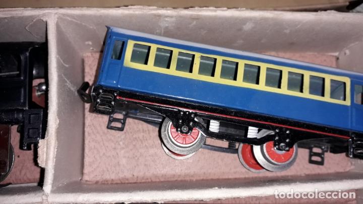 Trenes Escala: TREN PAYA LOCOMOTORA 984, ESCALA 0, TREN DE JUGUETE, TREN ANTIGUO, TREN PAYA - Foto 10 - 167567740