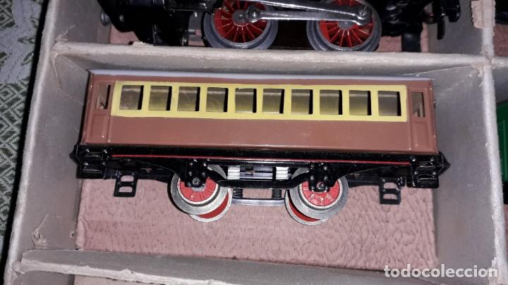 Trenes Escala: TREN PAYA LOCOMOTORA 984, ESCALA 0, TREN DE JUGUETE, TREN ANTIGUO, TREN PAYA - Foto 11 - 167567740