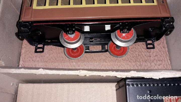 Trenes Escala: TREN PAYA LOCOMOTORA 984, ESCALA 0, TREN DE JUGUETE, TREN ANTIGUO, TREN PAYA - Foto 21 - 167567740