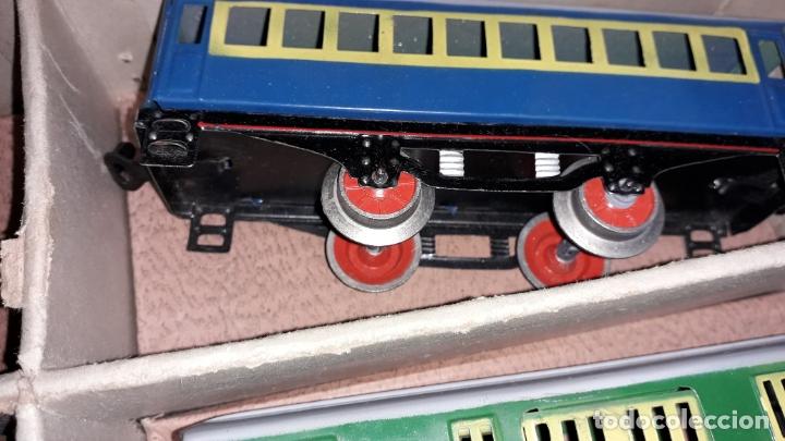Trenes Escala: TREN PAYA LOCOMOTORA 984, ESCALA 0, TREN DE JUGUETE, TREN ANTIGUO, TREN PAYA - Foto 22 - 167567740