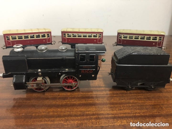 Trenes Escala: Tren locomotora Rico 1000 cuerda - Foto 2 - 173383170