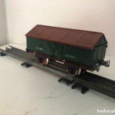 Trenes Escala: VAGÓN TRANSPORTE DE CEMENTO DE PAYA. Lote 173476479