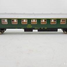 Trenes Escala: VAGON DE TREN PASAJEROS LIMA ITALY Nº 9142 - RENFE LINEA BARCELONA-MADRID, CAJA ORIGINAL. Lote 173572335