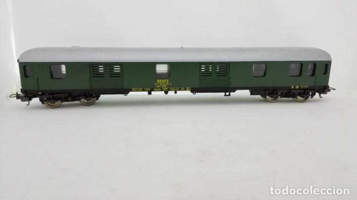 Trenes Escala: VAGON DE TREN MERCANCIAS LIMA ITALY Nº 9142 - RENFE, CAJA ORIGINAL - Foto 2 - 173572433