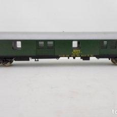 Trenes Escala: VAGON DE TREN MERCANCIAS LIMA ITALY Nº 9142 - RENFE, CAJA ORIGINAL. Lote 173572433
