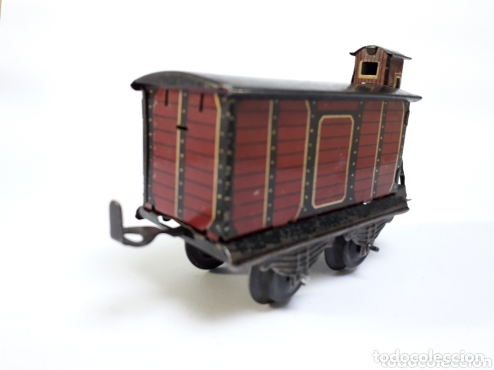 Trenes Escala: Antiguo vagón de mercancías escala 0 - Foto 2 - 174176523