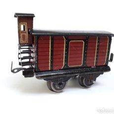 Trenes Escala: ANTIGUO VAGÓN DE MERCANCÍAS ESCALA 0. Lote 174176523