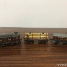 Trenes Escala: LOCOMOTORA Y VAGONES BING. Lote 175352648