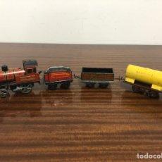 Trenes Escala: TREN A CUERDA ESCALA 0. Lote 175646575